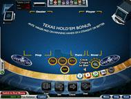 Texas Hold'em Bonus Poker screenshot 2