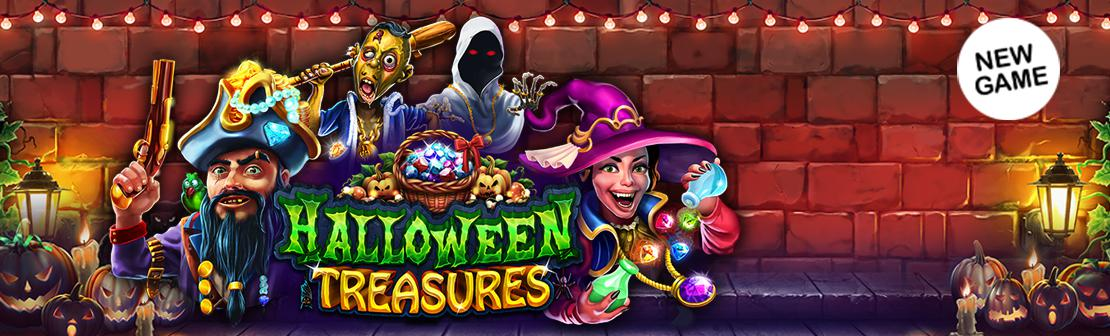 New Game: Halloween Treasures