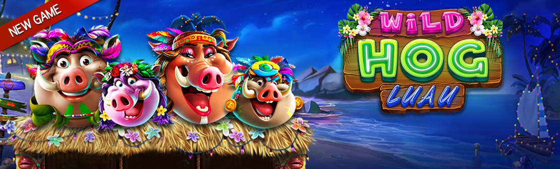 New Game: Wild Hog Luau
