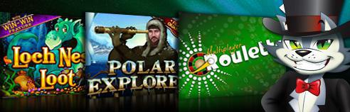 The Coolest Games at CoolCat Casino for 2012