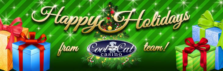 Merry Christmas and a Happy New Year from Cool Cat Casino!