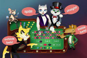 Different roulette wheels at CoolCat Casino