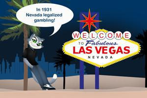 Nevada legalized gambling in 1931