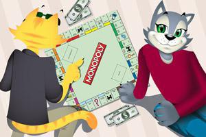 CoolCat Casino plays Monopoly
