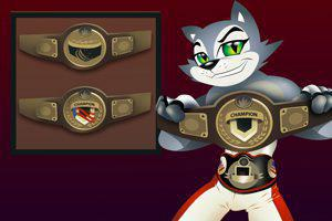 All professional boxing belts