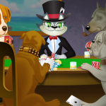 "The Story Behind the Iconic ""Dogs Playing Poker"""
